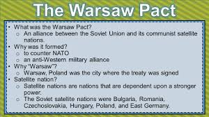 Iron Curtain Cold War Apush by 100 Iron Curtain Warsaw Pact Apush Us History Eoc Review