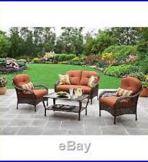 Ebay Patio Furniture Sectional by Outdoor Patio Furniture Set Patio Deck Porch Backyard Chair Sofa
