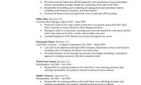 General Resume Objective Examples 2017 New Captivating Position With Additional