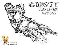 For Kids Download Dirt Bike Coloring Pages 47 Your Print With