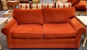 living room ethan allen bennett sofa plus pottery barn leather