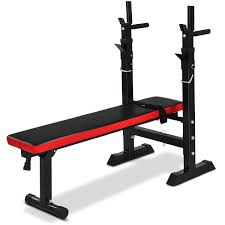 GOPLUS Adjustable Weight Bench Weight Lifting Bench MultiFunction For Fitness Exercise And Strength Workout Fully Adjustable Weight Catches