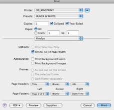 Screenshot Of Using Duplex Printing Feature On A Mac