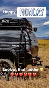 100 Where Are Toyota Trucks Made Tundra Ladder Made By Reise Outfitters Offroad Overland