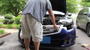 acura tsx front bumper removal 2009 2014 cu2 accord