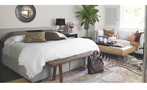 Pottery Barn Master Bedroom by A Globally Inspired California Home As Seen In House Beautiful