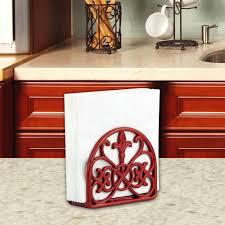 Fleur De Lis Cabinet Knobs Home Depot by Home Basics Cast Iron Fleur De Lis Napkin Holder Nh44393 The