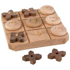 Wooden Tic Tac Toe Game Woodworking Projects For KidsWoodworking
