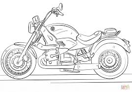 Cool Motorcycle Coloring Page 13