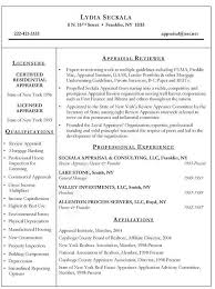 Realtor Resume Examples Awesome Real Estate Appraiser Example Pinterest Of