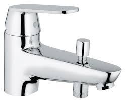 mitigeur grohe salle de bain mitigeur bain bauedge monotrou c2 réf 23562000 grohe