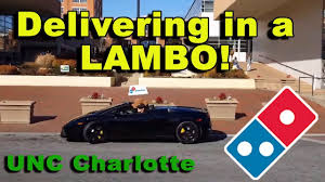 Domino's Driver At UNC Charlotte Delivering In A Lamborghini Spyder ... Tow Truck Charlotte Nc Towing Service Provider Best Tg Stegall Trucking Inc Hiring Drivers In Nc Mecklenburg Abc Board Careers Barrnunn Driving Jobs Averitt Ups Driver Salary Roehl Transport Cdl Traing Roehljobs North Carolina Local Comcar Industries Knight Transportation