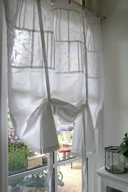vorhang gardine spitzen romantik vintage