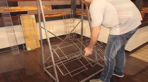 Recommended Underlayment For Bamboo Flooring by Cali Bamboo Flooring Display Assembly Youtube