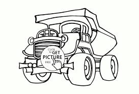 Cool Big Dump Truck Coloring Page For Kids Transportation ... Dump Truck Coloring Pages Loringsuitecom Great Mack Truck Coloring Pages With Dump Sheets Garbage Page 34 For Of Snow Plow On Kids Play Color Simple Page For Toddlers Transportation Fire Free Printable 30 Coloringstar Me Cool Kids Drawn Pencil And In Color Drawn