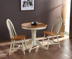 Small Kitchen Table Ideas by Small Round Black Kitchen Table And Chairs Oak Wood Base Wooden