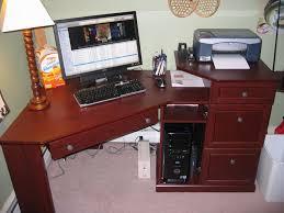 Altra Chadwick Corner Desk Dimensions by American Cherry Corner Desk And Hutch Small Cherry Corner Desk