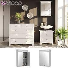 möbel wohnen vicco spiegelschrank freddy weiß spiegel