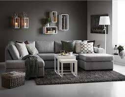 wohnzimmer modern einrichten grau woonkamer grijs
