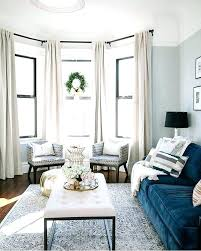 Bay Window Treatments Astonishing Dining Room Intended Best Curtains Kitchen