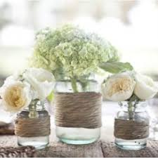 You Can Decorate Mason Jars In Endless Ways But These Twine Ones Make Stunning Centerpieces Here Is The DIY Jar Feel Free To Adapt It