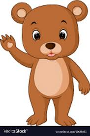 Cute Baby Bears Cartoon Royalty Free Vector Image