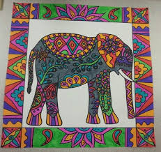 Original Pin Elephant Art
