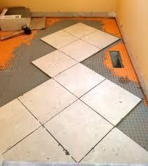 Laying Diagonal Tile Flooring