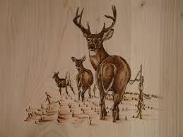 turkey pyrography go back u003e gallery for u003e deer wood burning