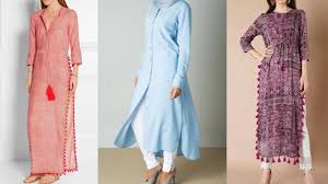 Latest Pakistani Simple Kurta Design Ideas Daily Wear For College Students