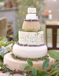 Rustic Wedding Cakes Tend Cheese