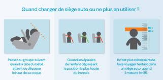 siege auto age taille comment choisir un siège auto
