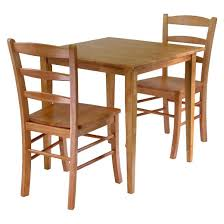 3 groveland dining table with chairs wood light oak