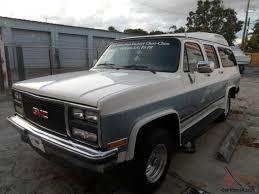 100 1989 Gmc Truck GMC V1500 Suburban 4X4 Factory ChooChoo 4Door 57L