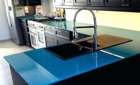plan de travail cuisine en verre meuble plan de travail cuisine ikea un plan de travail en verre