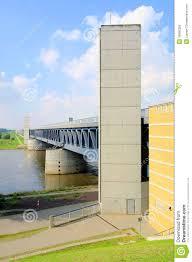 100 Magdeburg Water Bridge Stock Photo Image Of Midland 16060326