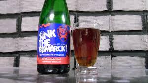 kupko s mind bottled brew dog sink the bismarck