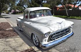 Freshly Build 1957 Chevrolet Pickup Custom Cab Big Window | Custom ... 9 Sixfigure Chevrolet Trucks 3100 Pickup V8 Project 1957 Pickup For Sale Classiccarscom Cc1035770 Rare Napco 4x4 Shortbed Stepside Project Gmc Panel Truck Hot Rod Network 12 Ton 502 Sale On Chevy Cameo Classic