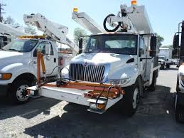2011 INTERNATIONAL 4300 S/A BUCKET/SIGN TRUCK VIN/SN ...