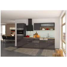 küche mit geschirrspüler 300 cm grau maranello 03 inkl e geräte anth