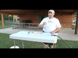 Stainless Steel Fish Cleaning Station With Sink by Lindy Fish Cleaning Table Midwest Outdoors Tip Of The Week Mov