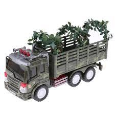 100 Plastic Truck Model Kits 164 Military 2 Soldier Figure Diecast Car
