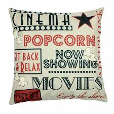 YOENYY Movie Theater Cinema Personalized Home Decor Design Throw