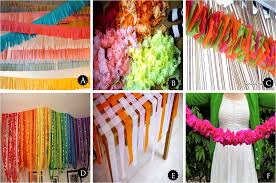 Layering And Stringing Crepe Paper Flowers Can Liven Up A Room Create Festive Atmosphere For Any Party Setting Check Out These Decorations
