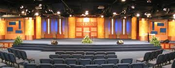 Glowing Stage Front And Pallet Walls Worship Design Diy Pinterest