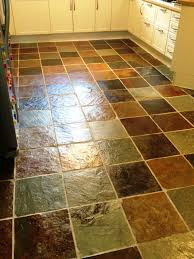 slate tiles cleaned and sealed in a glasgow kitchen glasgow tile
