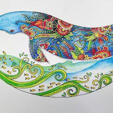 EzRepost Thucuyendtl With Ezinsaveapp One Of Lost Ocean Coloring Book Johannabasford
