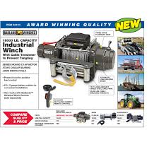 100 Truck And Winch Coupon Code 18000 Lbs IndustrialTow Electric With Automatic Load