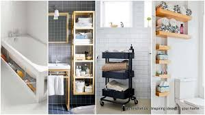 20 Smart Bathroom Storage Ideas That Will Impress You | Homesthetics ... Small Space Bathroom Storage Ideas Diy Network Blog Made Remade 15 Stunning Builtin Shelf For A Super Organized Home Towel Appealing 29 Neat Wired Closet 50 That Increase Perception Shelves To Your 12 Design Including Shelving In Shower Organization You Need To Try Asap Architectural Digest Eaging Wall Hung Units Rustic Are Just As Charming 20 Best How Organize Tiny Doors Combo Linen Cabinet