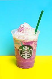 The Raspberry Unicorn Frappuccino